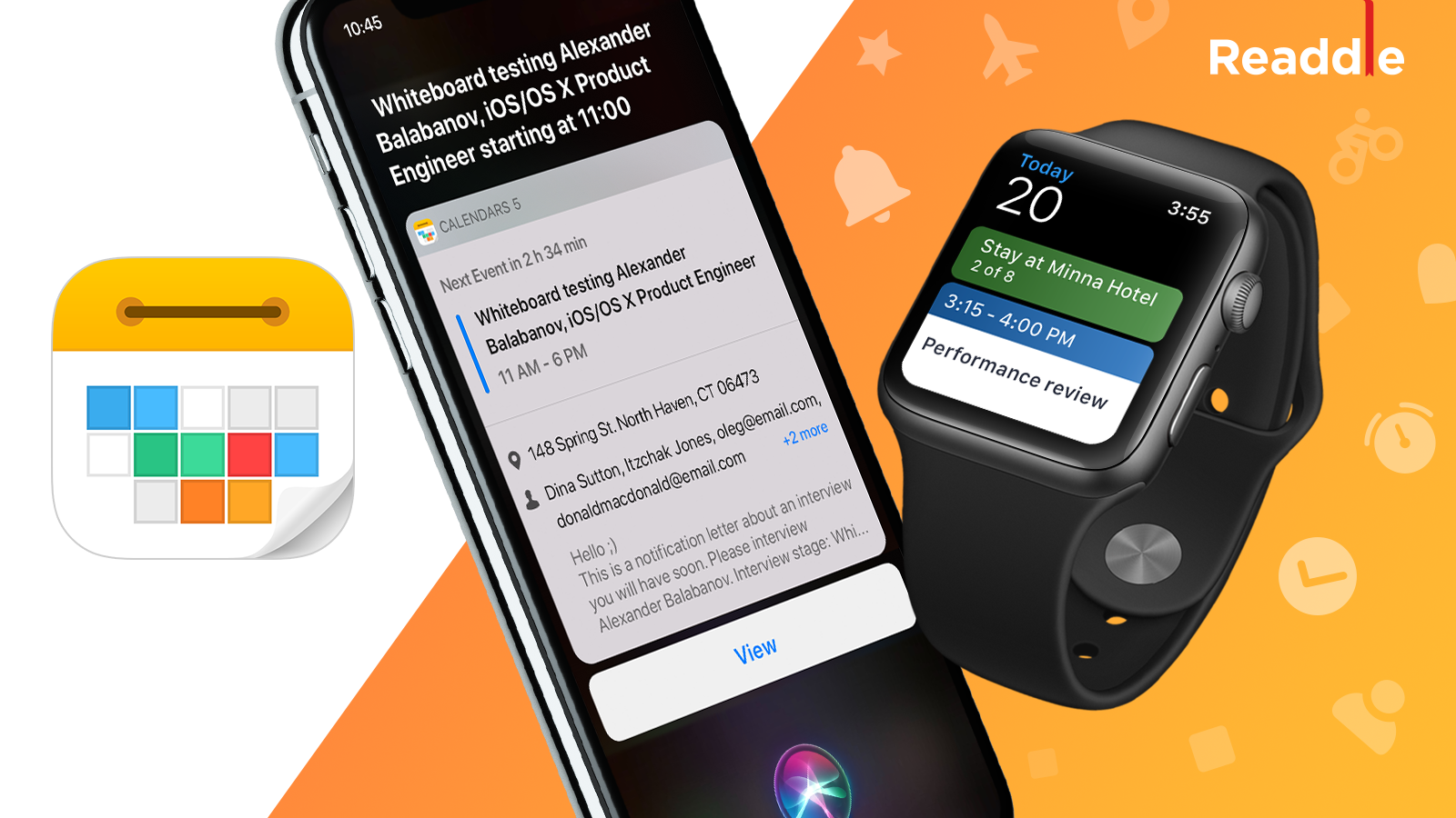 Calendars 5 adds Siri shortcuts and a Stunning Apple Watch app