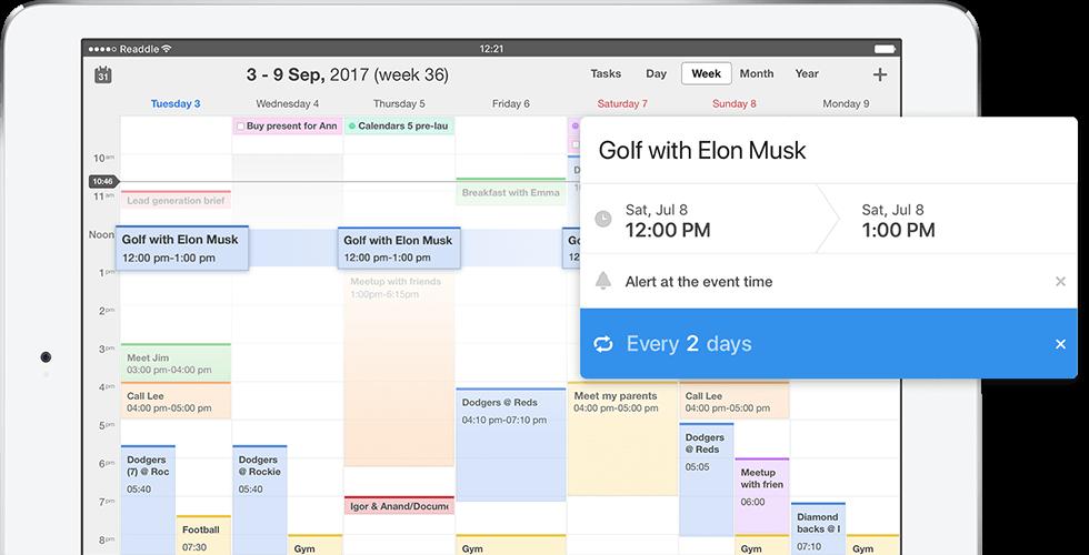 best calendar app for windows 10 2017
